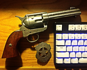 Colt and Keyboard